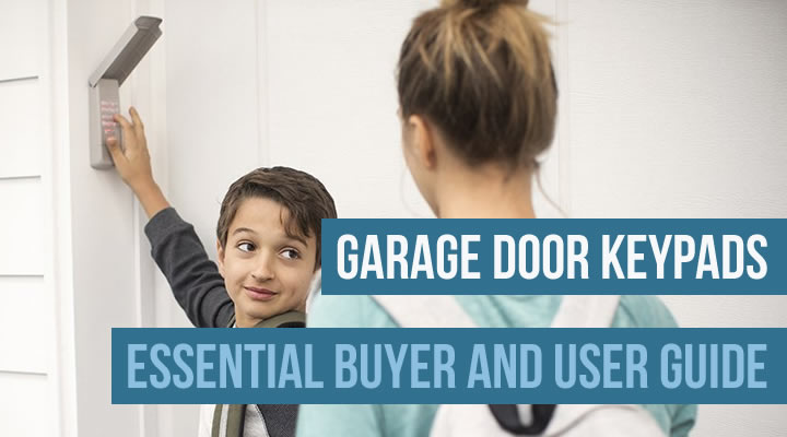 Garage door keypads