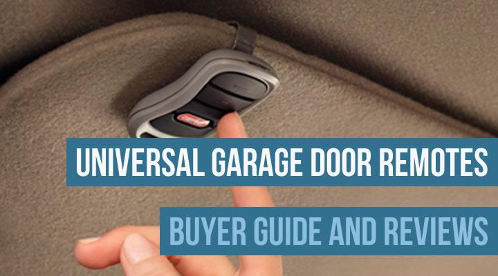 Universal garage door remotes