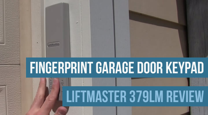 Fingerprint Garage Door Keypads